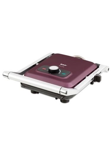 Fakir Fakir Pionty Paslanmaz Çelik Ayarlanabilir Isılı Led Göstergeli 2000 Watt Violet Tost Makinesi Renkli